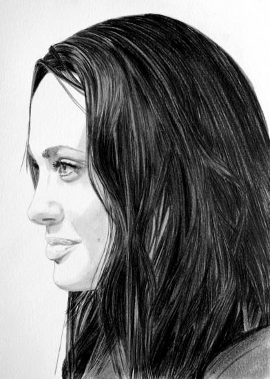 Angelina Jolie por umberto